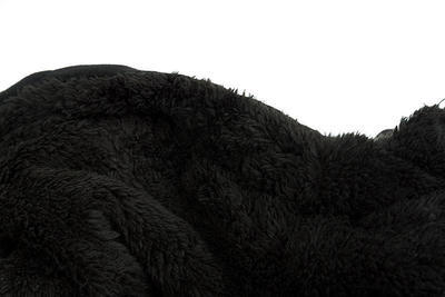 Fox mikina s kapucí Collection Black/Orange Sherpa Hoodie - 4