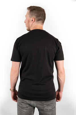Fox tričko Black/Camo Chest Print T-Shirt vel. M (CFX020) - 4
