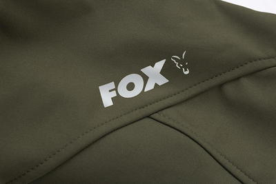 Fox mikina s kapucí Collection Green & Silver Shell Hoodie - 5