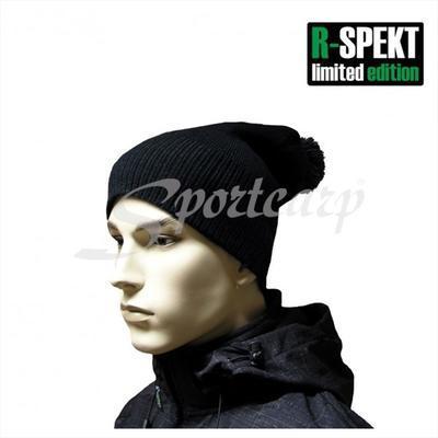 R-Spekt kulich PomPom Duo Beanie Style černý (76049) - 5