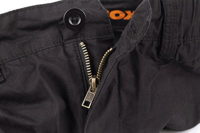Fox kraťasy Collection Black & Orange Combat Shorts - 5