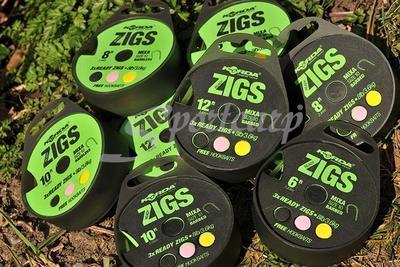 Korda hotové návazce Ready Tied Zig Rig - 5