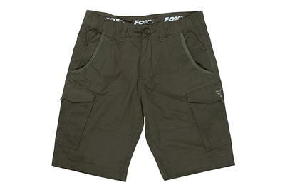 Fox kraťasy Collection Green & Silver Combat Shorts - 5