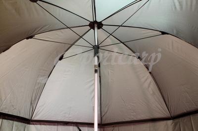 Delphin rybářský deštník s odepínatelnou bočnicí (435001ZEL) - 5