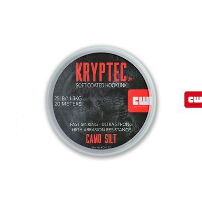 Carp Whisperer ztužená šňůrka Kryptec Coated Hooklink Soft Camo Gravel - 5
