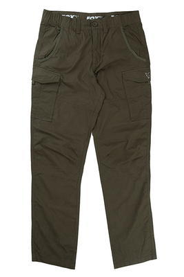 Fox kalhoty Collection Green & Silver Combat Trousers - 5