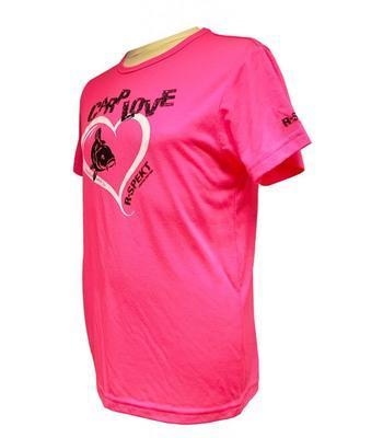 R-Spekt dětské tričko Carp Love fluo pink - 5