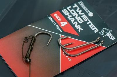 Nash háčky Pinpoint Twister Long Shank - 5