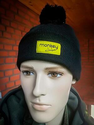 Monkey Climber kulich Pompom Beanie - 5