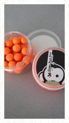 Monkey Climber plovoucí boilies Noddy Pops (oranžová barva) - 6