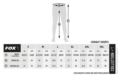 Fox kraťasy Collection Green & Silver Combat Shorts - 6