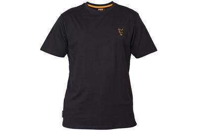 Fox tričko Black & Orange T - Shirt - 6