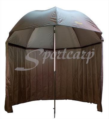 Delphin rybářský deštník s odepínatelnou bočnicí (435001ZEL) - 6
