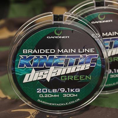 Gardner splétaná šňůra Kinetic Distance Braid 300 m, 20 lb (9,1 kg) 0.20 mm (XKDB) - 6