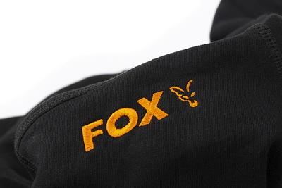 Fox mikina s kapucí Orange & Black Hoodie - 7