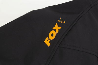 Fox mikina Orange & Black Shell Hoodie - 7