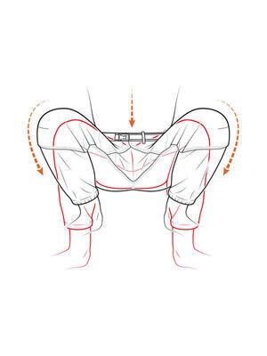 Fortis zateplené kalhoty Trail Pant Lined - 7