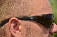 Polarizační brýle Fortis Wraps Brown - Sportcarp