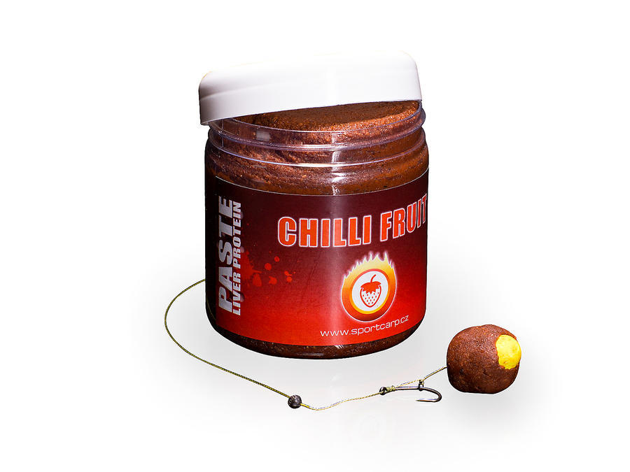 Sportcarp obalovací pasty Boilie Paste Chilli Fruit