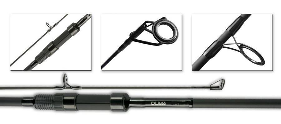 TFG prut na krmení raketou DL Black Edition Spod Rod 12' 4,75 lb (TFG-DLBE-SPOD)