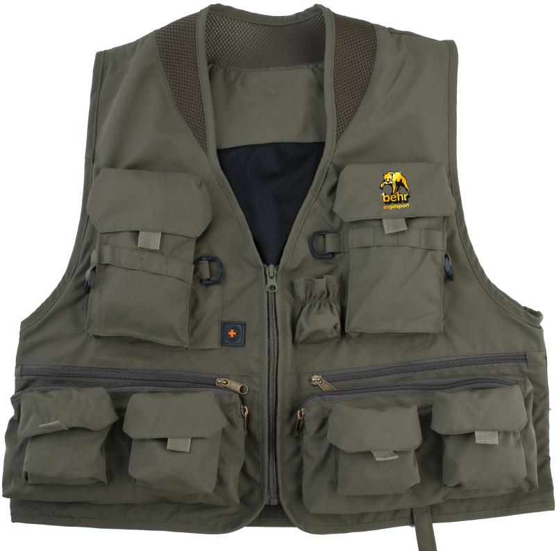 Behr rybářská vesta Taslon vel. XL (8652603)